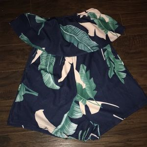 Romper with shorts